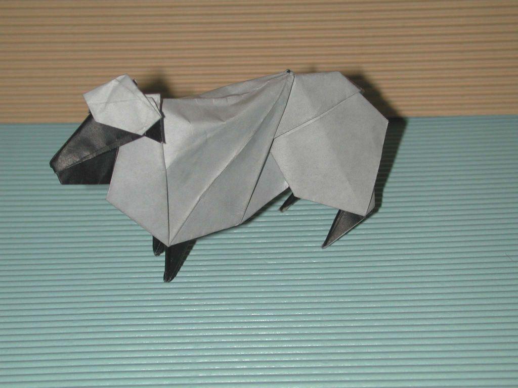 すべての折り紙 折り紙 羊 簡単 : 図:左から順に「クッキー型の ...